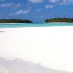 Aitutaki Island in the Cook Islands