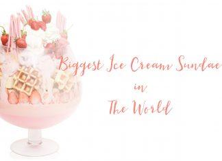 Biggest Ice Cream Sundae