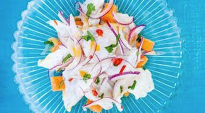 Peruvian Ceviche for adventuregirl.com