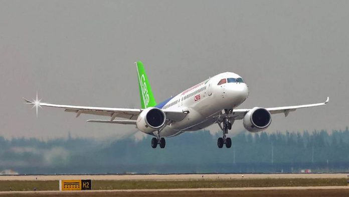 C919 first flight