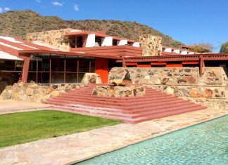 Frank Lloyd Wright, Taliesin West, Scottsdale, Arizona