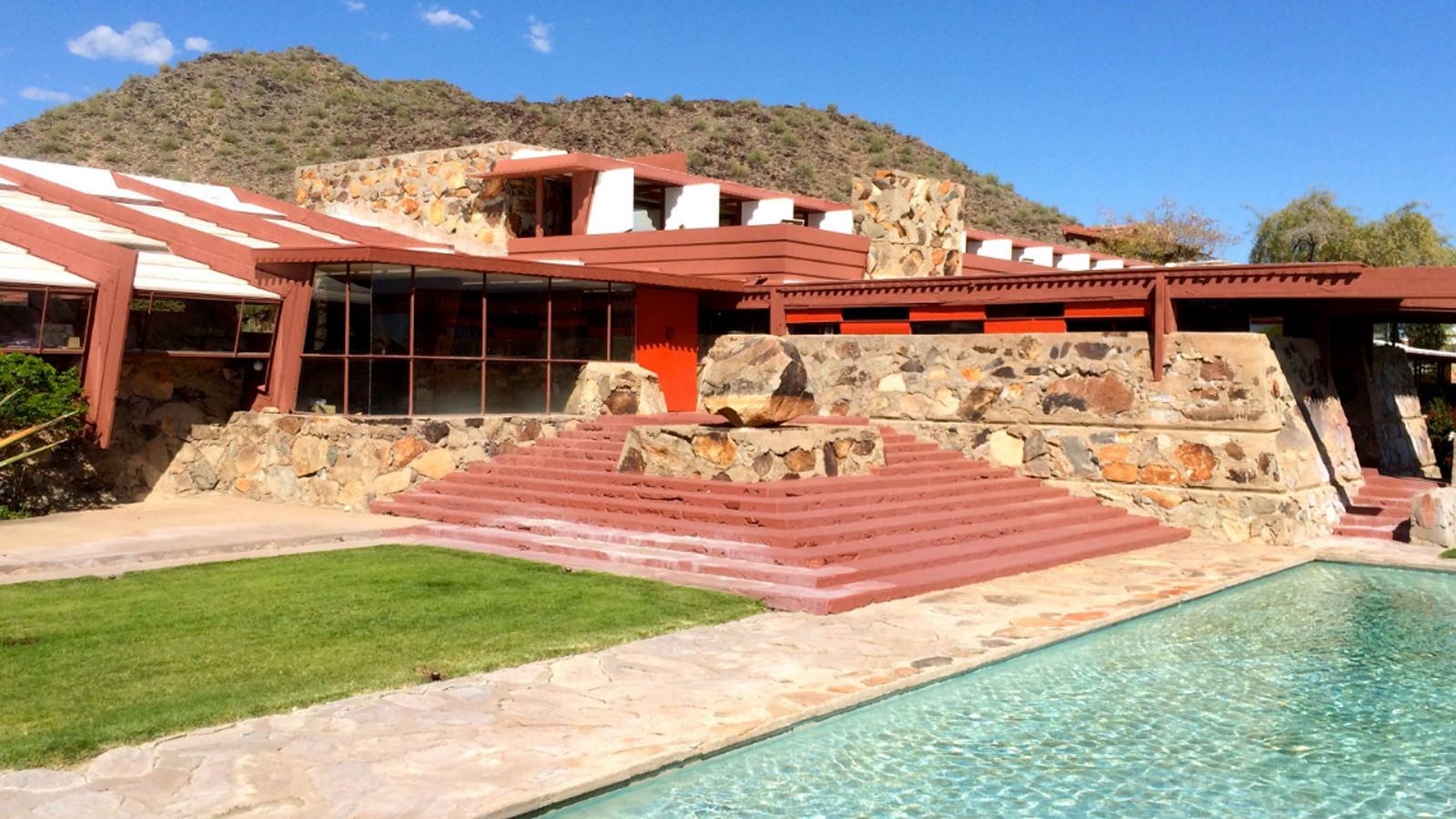 Frank Lloyd Wright, Taliesin West, Scottsdale, Arizona