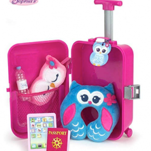 Sophia's Doll Travel Play Set 7Piece Doll