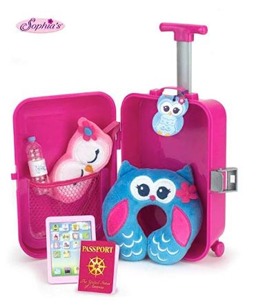 Sophia's Doll Travel Play Set 7Piece Doll