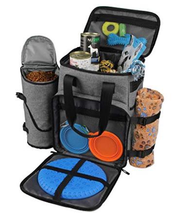 Hilike Premium Pet Travel Bag for Dog & Cat-Week Away Tote