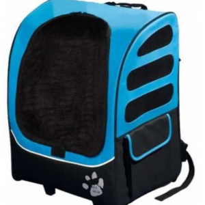 Pet Gear I-GO2 Roller Backpack, Travel Carrier